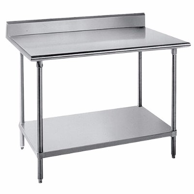 Market Source OnlineCommercial Stainless Steel Food Prep - Stainless steel work table with sink